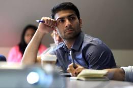 Ali Zahir, 2013 Scholar.